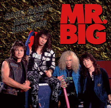 MR. BIG - RARE, RARER, RAREST! 1988-1996 (1CDR)