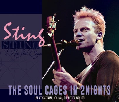 STING - THE SOUL CAGES IN 2 NIGHTS (3CDR)