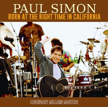 PAUL SIMON - BORN AT THE RIGHT TIME IN CALIFORNIA (2CDR)