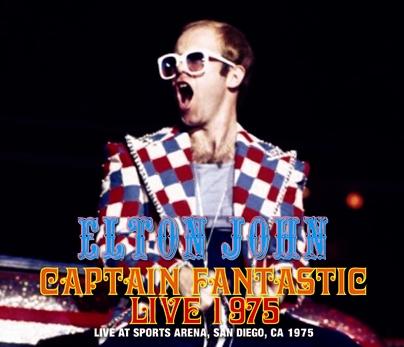 ELTON JOHN - CAPTAIN FANTASTIC LIVE 1975 (3CDR)
