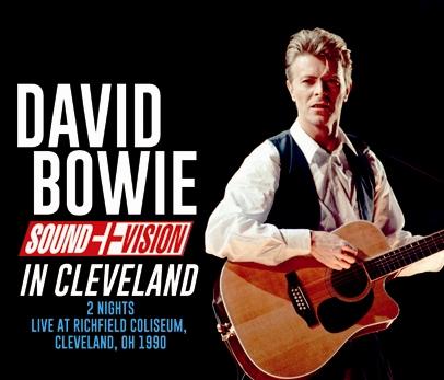 DAVID BOWIE - SOUND+VISION IN CLEVELAND(3CDR)