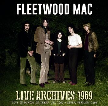 FLEETWOOD MAC - LIVE ARCHIVES 1969 (1CDR)