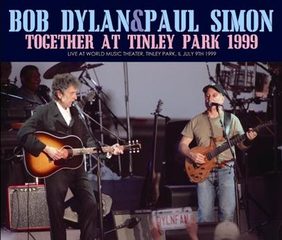 BOB DYLAN & PAUL SIMON - TOGETHER AT TINLEY PARK 1999 (3CDR)