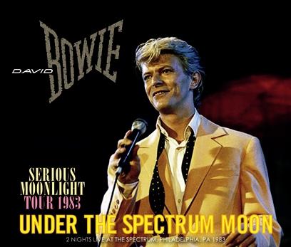 DAVID BOWIE - UNDER THE SPECTRUM MOON (4CDR)