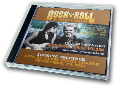 BRIAN WILSON & JEFF BECK - ROCK'N'ROLL FANTASY CAMP