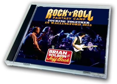BRIAN WILSON & JEFF BECK - ROCK'N'ROLL FANTASY CAMP IN WALLINGFORD 2013