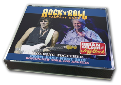 BRIAN WILSTON & JEFF BECK - ROCK'N'ROLL FANTASY CAMP FROM EAST WEST 2013