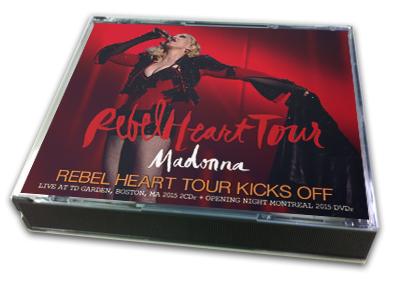 MADONNA - REBEL HEART TOUR KICKS OFF