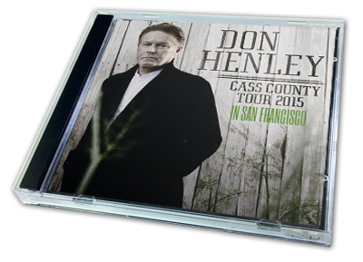 DON HENLEY - CASS COUNTY TOUR 2015 IN SAN FRANCISCO