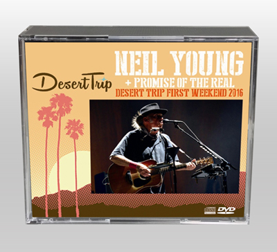 NEIL YOUNG - DESERT TRIP FIRST WEEKEND 2016