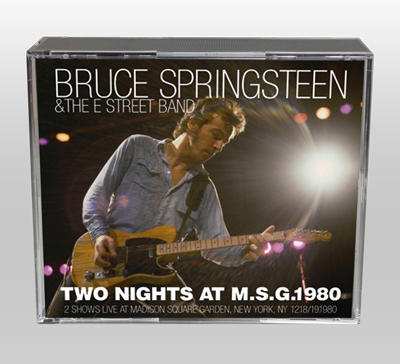BRUCE SPRINGSTEEN - TWO NIGHTS AT M.S.G. 1980