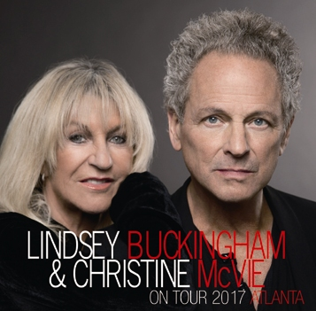 LINDSEY BUCKINGHAM & CHRISTINE McVIE - ON TOUR 2017: ATLANTA