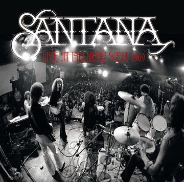 SANTANA - LIVE AT FILLMORE WEST 1969