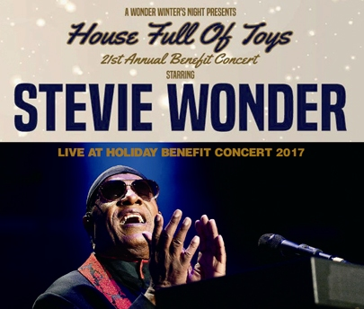 STEVIE WONDER - LIVE AT HOLIDAY BENEFIT CONCERT 2017
