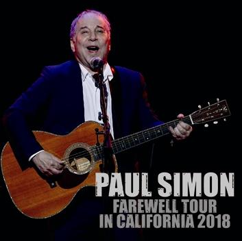 PAUL SIMON - FAREWELL TOUR IN CALIFORNIA 2018