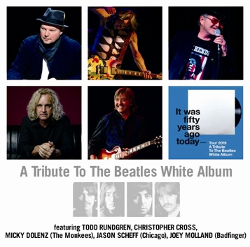 TODD RUNDGREN, MICKY DOLENZ, CHRISTOPHER CROSS, JASON SCHEFF, JOEY MOLLAND etc./A TRIBUTE TO THE BEATLES WHITE ALBUM (2CDR)