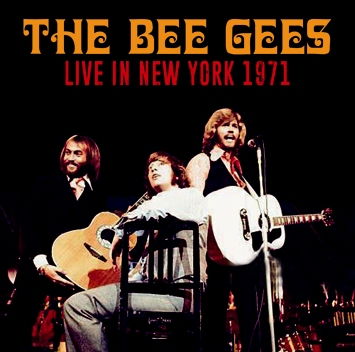 THE BEE GEES - LIVE IN NEW YORK 1971 (1CDR)