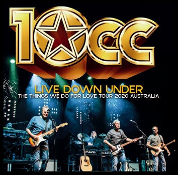 0CC - LIVE DOWN UNDER: THE THINGS WE DO FOR LOVE TOUR 2020 (2CDR)
