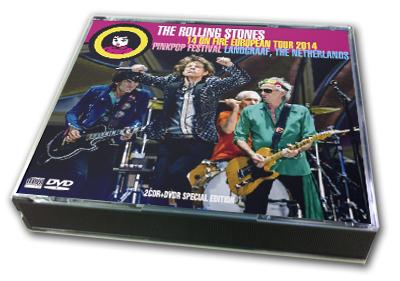 ROLLING STONES - 14 ON FIRE EUROPEAN TOUR 2014 : PINK POP FESTIVAL 2014