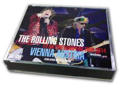ROLLING STONES - 14 ON FIRE EUROPEAN TOUR 2014 : VIENNA AUSTRIA