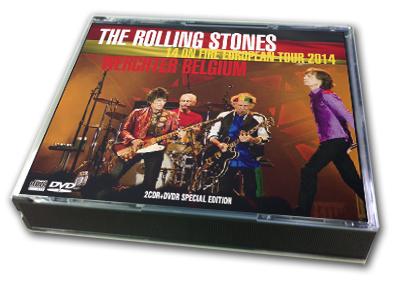 ROLLING STONES - 14 ON FIRE EUROPEAN TOUR 2014 : WERCHTER, BELGIUM