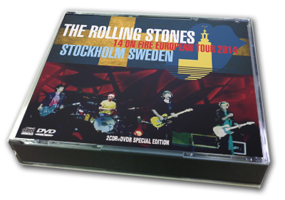ROLLING STONES - 14 ON FIRE EUROPEAN TOUR 2014 : STOCKHOLM SWEDEN