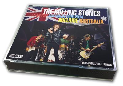 ROLLING STONES - 14 ON FIRE AUSTRALIA TOUR 2014 : ADELAIDE AUSTRALIA