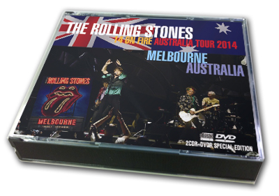 ROLLING STONES - 14 ON FIRE MELBOURNE 20214