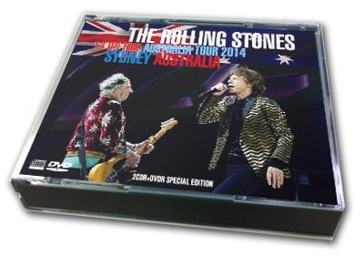 ROLLING STONES - 14 ON FIRE AUSTRALIA TOUR 2014 : SYDNEY, AUSTRALIA