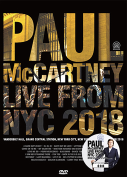 PAUL McCARTNEY - LIVE FROM NYC 2018