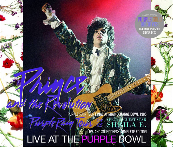 PRINCE - LIVE AT THE PURPLE BOWL
