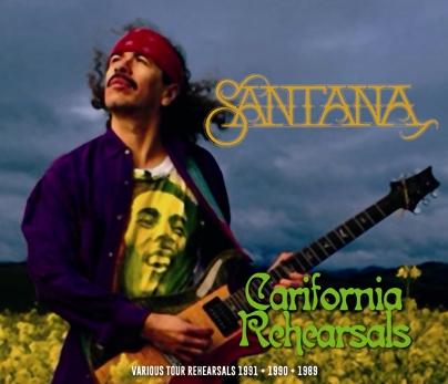 SANTANA - CALIFORNIA REHEARSALS (5CDR)