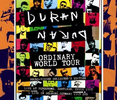 DURAN DURAN - +ORDINARY WORLD TOUR(2CDR+1DVDR)