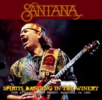 SANTANA - SPIRITS DANCING IN THE WINERY (2CDR)