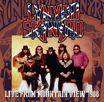LYNYRD SKYNYRD - LIVE FROM MOUNTAIN VIEW 1988 (1CDR)