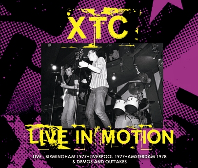 XTC - LIVE IN MOTION (3CDR)