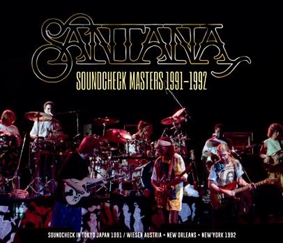 SANTANA - SOUNDCHECK MASTERS 1991-1992 (3CDR)