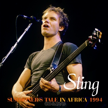 STING - SUMMONER'S TALE IN AFRICA 1994 (1CDR+1DVDR)