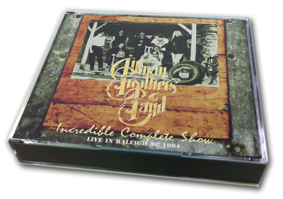 ALLMAN BROTHERS - INCREDIBLE COMPLETE SHOW
