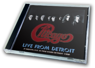 CHICAGO - LIVE FROM DETROIT