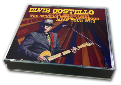 ELVIS COSTELLO - THE SPINNING WHEEL SONGBOOK JAPAN TOUR