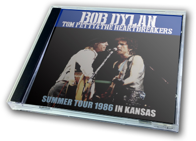 BOB DYLAN with TOM PETTY - SUMMER TOUR 1986 : IN KANSAS