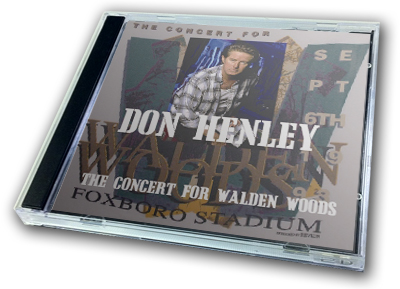 DON HENLEY - THE CONCERT FOR WALDEN WOODS
