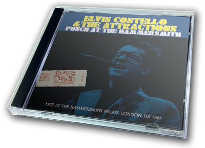 ELVIS COSTELLO - PUNCH AT THE HAMMERSMITH