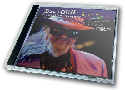 DR.JOHN - INGOLSTADTER JAZZTAGE FESTIVAL 2014