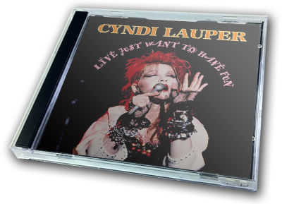 CYNDI LAUPER - LIVE JUST WANT TO HAVE FUN