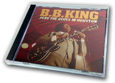 B.B. KING - PLAY THE BLUES IN HOUSTON