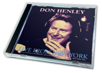 DON HENLEY - LIVE FROM NEW YORK