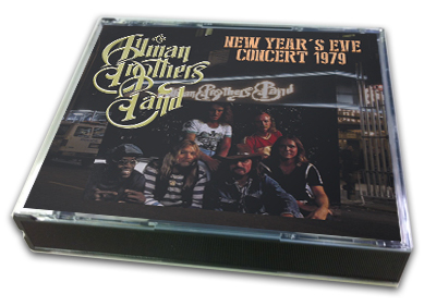 ALLMAN BROTHERS BAND - NEW YEAR'S EVE CONCERT 1979