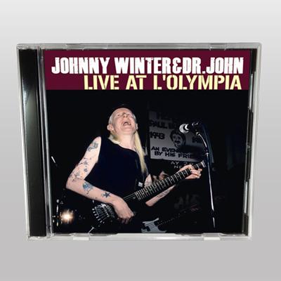 JOHNNY WINTER & DR.JOHN - LIVE AT L'OLYMPIA